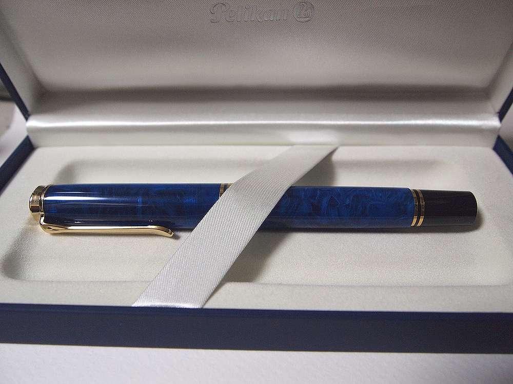 Pelikan M800 【blue o' blue】外観