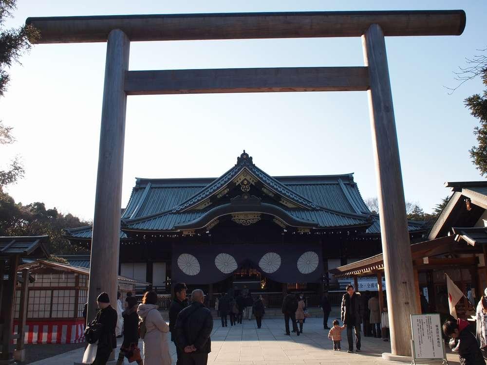 10.12.31撮影 靖国神社